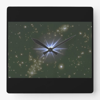 Stars. (galaxy;space;stars;color_Space Scenes Clocks