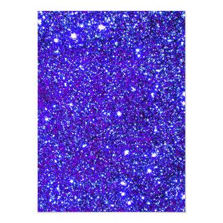 Stars Glitter Sparkle Universe Infinite Sparkly 14 Cm X 19 Cm Invitation Card
