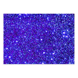 Stars Glitter Sparkle Universe Infinite Sparkly Business Card