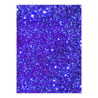 Stars Glitter Sparkle Universe Infinite Sparkly Invitation