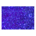 Stars Glitter Sparkle Universe Infinite Sparkly Pack Of Chubby Business Cards