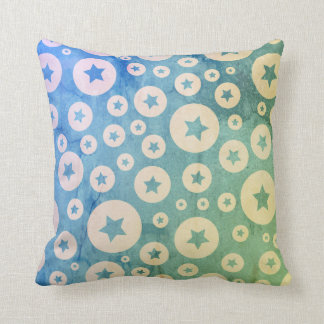 Stars in Bubbles Cushion