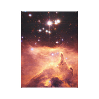Stars in deep space. stretched canvas prints