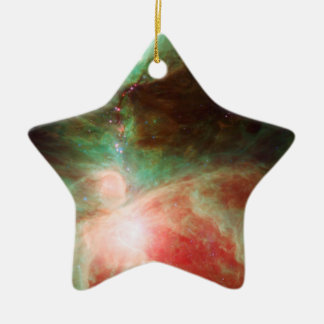 Stars in Orion Nebula Space Christmas Ornaments