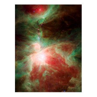 Stars in Orion Nebula Space Postcard