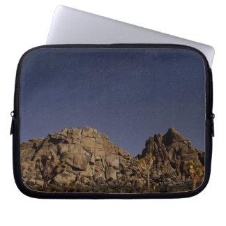 Stars in sky over desert 5 laptop sleeve