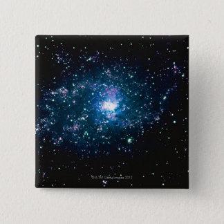 Stars in Space 15 Cm Square Badge