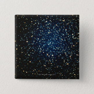 Stars in Space 2 15 Cm Square Badge