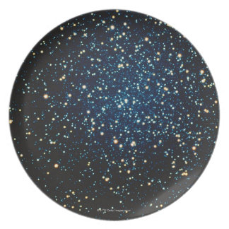Stars in Space 2 Plate