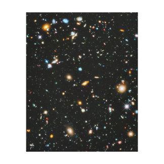 Stars in Space - Hubble Ultra Deep Field Canvas Prints