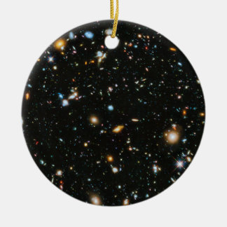 Stars in Space - Hubble Ultra Deep Field Christmas Ornament