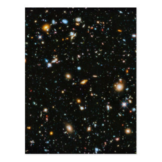Stars in Space - Hubble Ultra Deep Field Postcard