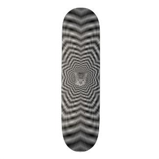 Stars in Stars + Cat Custom Skateboard