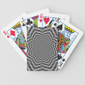 Stars in Stars in Monochrome Playing Cards