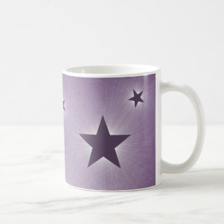 Stars in the Night Sky Mug, Purple Coffee Mug