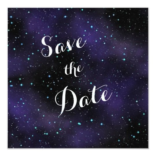 Stars in the Night Sky Save the Date