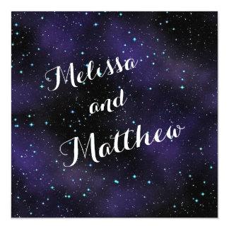 Stars in the Night Sky Wedding Invitation