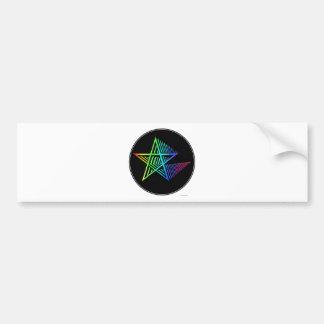 Stars in the Stars Bumper Sticker