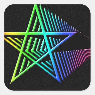 Stars in the Stars Square Sticker