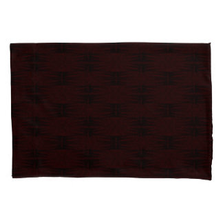 Stars Love Birth-day Black Maroon Pillowcase