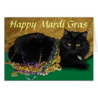 Star's Mardi Gras Card