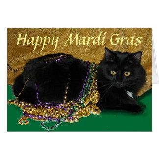 Star's Mardi Gras Card