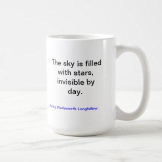 Stars Mug by Longfellow