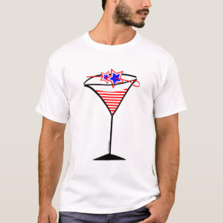 Stars n Stripes Martini T-shirt