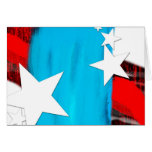 Stars N Stripes Note Card