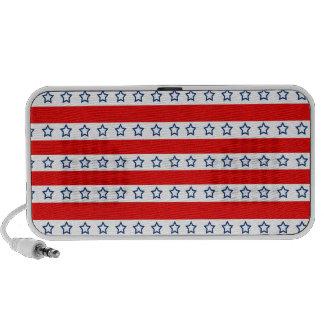 Stars 'n Stripes Patriotic NEW OrigAudio Speaker