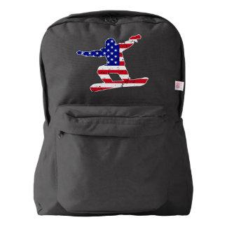 Stars 'n' Stripes SNOWBOARDER (wht) Backpack