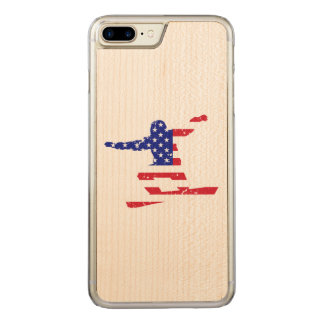 Stars 'n' Stripes SNOWBOARDER (wht) Carved iPhone 7 Plus Case