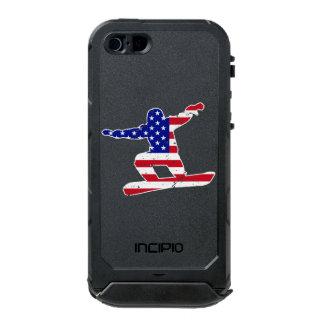 Stars 'n' Stripes SNOWBOARDER (wht) Incipio ATLAS ID™ iPhone 5 Case