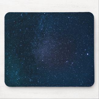 Stars night sky mouse mat