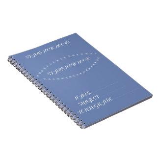 star's note book photo note book