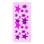 Stars of Colour Bookmark Custom Rack Cards