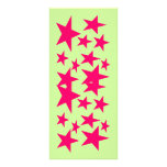 Stars of Colour Bookmark Personalised Rack Card