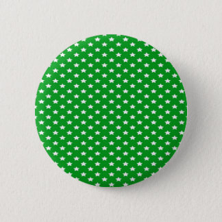 Stars on Green 6 Cm Round Badge