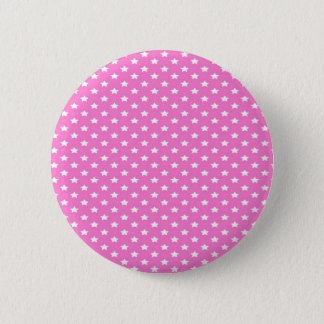 Stars on Pink 6 Cm Round Badge