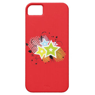 Stars on Red Case For The iPhone 5