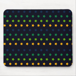 STARS PATTERN MOUSE PAD