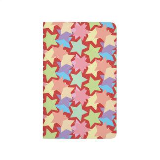 Stars Pattern Pocket Journal