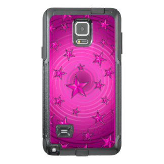 Stars pattern with color adjustable OtterBox samsung note 4 case
