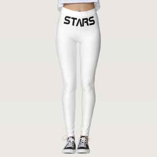 Stars pink star leggings