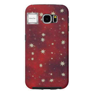 stars red samsung galaxy s6 cases