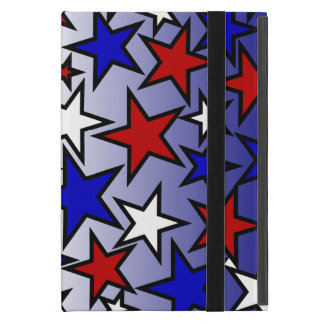 Stars (Red, White and Blue) iPad Mini Cover