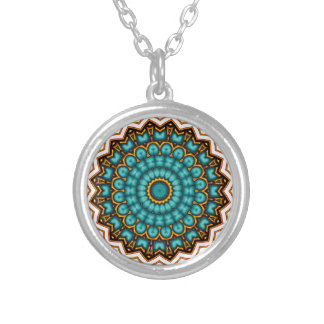 Stars rider Mandala motive Personalized Necklace