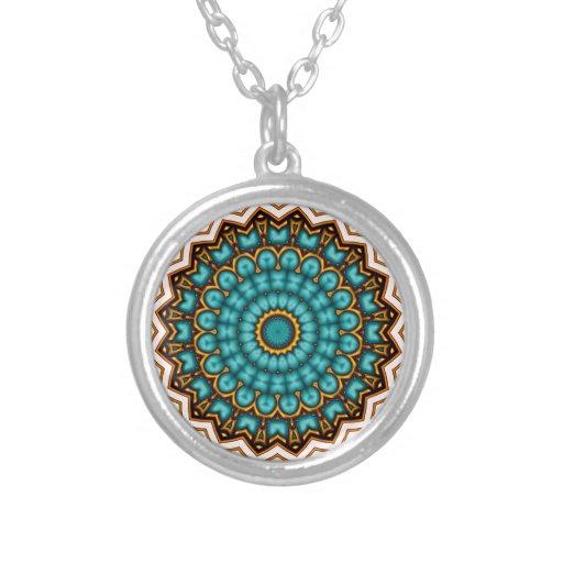 Stars rider Mandala motive Personalized Necklace