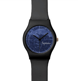 STARS SIGN | Vintage sky map with type Watch