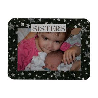 Stars Sister  Photo Premium Magnet